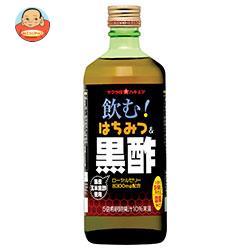 加藤美蜂園本舗 サクラ印 飲むはちみつ&黒酢 500ml瓶×6本入