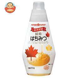 加藤美蜂園本舗 サクラ印 カナダ産純粋はちみつ 200g×12本入