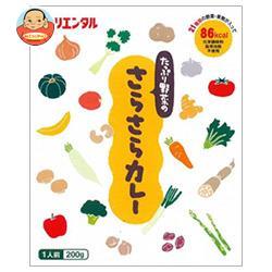 オリエンタル たっぷり野菜のさらさらカレー 200g×30個入