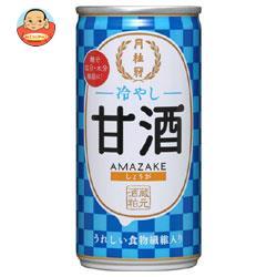 月桂冠 冷やし甘酒(しょうが入) 190g缶×30本入