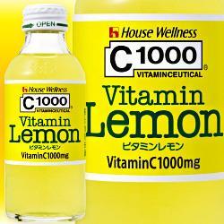 ハウスウェルネス C1000 ビタミンレモン 140ml瓶×30本入