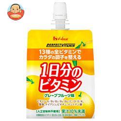 ハウスウェルネス PERFECT VITAMIN(パーフェクトビタミン) 1日分のビタミンゼリー 180gパウチ×24本入