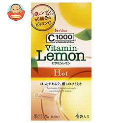 ハウスウェルネス 【HOT用】C1000 ビタミンレモンホット (6.4g×4袋)×24箱入