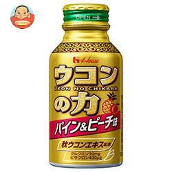 ハウス ウコンの力 パイン&ピーチ味 100mlボトル缶×30本入