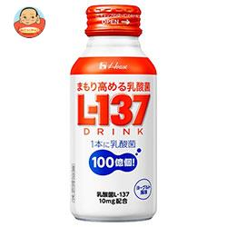 ハウスウェルネス まもり高める乳酸菌L-137 ドリンク 120mlボトル缶×30本入