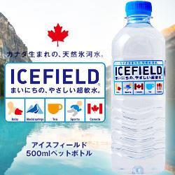 NGWジャパン ICEFIELD(アイスフィールド) 500mlペットボトル×24本入