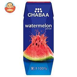 HARUNA(ハルナ) CHABAA(チャバ) 100%ジュース ウォーターメロン(プリズマ容器) 180ml紙パック×36本入