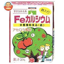 三育フーズ Feカルシウム 200ml紙パック×24本入