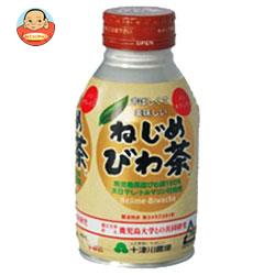 十津川農場 ねじめびわ茶 290mlボトル缶×24本入