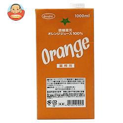 UCC GreenField(グリーンフィールド) 濃縮還元オレンジジュース100% 1000ml紙パック×6本入