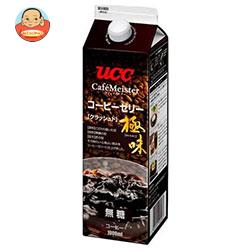 UCC 極味クラッシュドコーヒーゼリー 1000ml紙パック×12本入