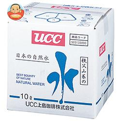 UCC 日本の自然水 秩父山系の水 10L×1箱入