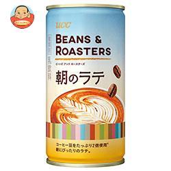 UCC BEANS&ROASTERS(ビーンズロースターズ) 朝のラテ 185g缶×30本入
