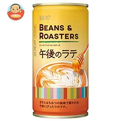 UCC BEANS&ROASTERS(ビーンズロースターズ) 午後のラテ 185g缶×30本入