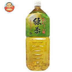 MRI 京都の銘水使用 おいしい緑茶 2Lペットボトル×6本入