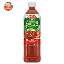 デルモンテ 野菜ジュース 食塩無添加 900gペットボトル×12本入