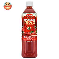 デルモンテ トマトジュース 食塩無添加 900gペットボトル×12本入