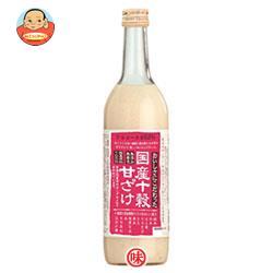 種商 国産十穀甘ざけ 720ml瓶×6本入