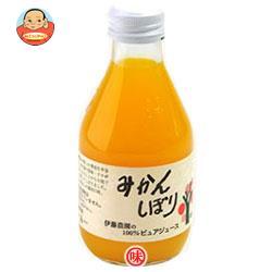 伊藤農園 100%ピュアジュース みかん 180ml瓶×30本入