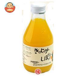 伊藤農園 100%ピュアジュース きよみ 180ml瓶×30本入