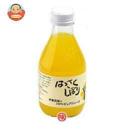 伊藤農園 100%ピュアジュース はっさく 180ml瓶×30本入