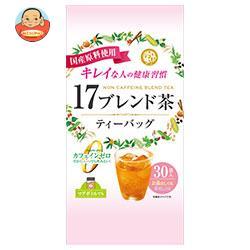 宇治森徳 17ブレンド茶 ティーバッグ 6g×30袋×20袋入
