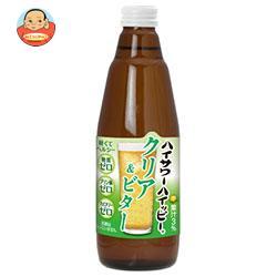 博水社 ハイサワーハイッピー クリア&ビター 350ml瓶×12本入