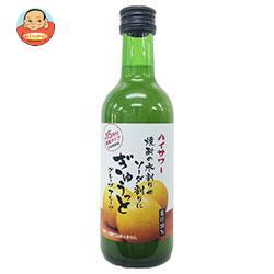 博水社 ハイサワーぎゅうっとグレープフルーツ 300ml瓶×12本入