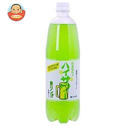 博水社 ハイサワー 青リンゴ 1000mlペットボトル×15本入