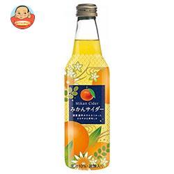 川崎飲料 みかんサイダー 340ml瓶×24本入
