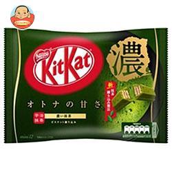 ネスレ日本 キットカット ミニ オトナの甘さ濃い抹茶 12枚×12袋入