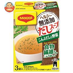 ネスレ日本 マギー ヘルシー無添加だしスープ こんぶと野菜 8.1g×3袋×6箱入