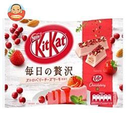 ネスレ日本 キットカット 毎日の贅沢 ストロベリーチーズケーキ仕立て 109g×12袋入