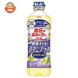 日清オイリオ 日清健康オイル アマニプラス【機能性表示食品】 600gペットボトル×10本入