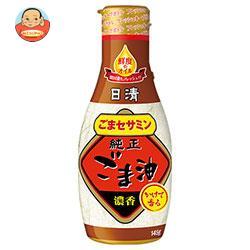 日清オイリオ 日清かけて香る純正ごま油 フレッシュキープボトル 145g×12本入