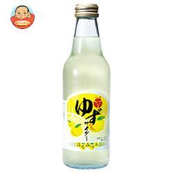 寿屋清涼食品 ゆずサイダー 340ml瓶×24本入