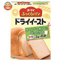 日本製粉 オーマイ ふっくらパンドライイースト(分包) (3g×6袋)×6箱入