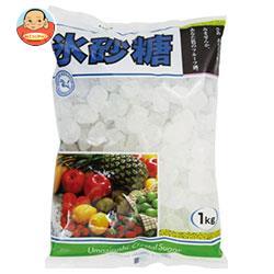 中日本氷糖 馬印 氷砂糖クリスタル 1kg×10袋入