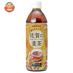 【賞味期限19.8.14】JAビバレッジ佐賀 佐賀の麦茶 500mlペットボトル×24本入
