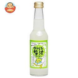 林兼太郎商店 梨汁サイダー はちみつ入り 250ml瓶×24本入