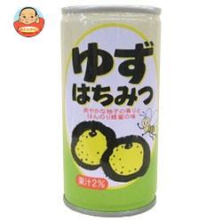 日本果実工業 ゆずはちみつ 190g缶×30本入