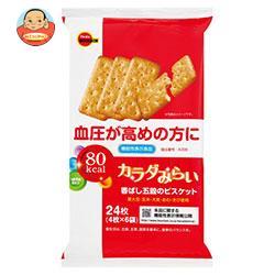 ブルボン カラダみらい 香ばし五穀のビスケット【機能性表示食品】 4枚×6袋×6個入