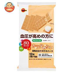 ブルボン カラダみらい 豆乳仕立てのウエハース【機能性表示食品】 2枚×6袋×6個入