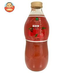 北のほたる トマトジュース 北海道産(無塩) 840ml瓶×12本入