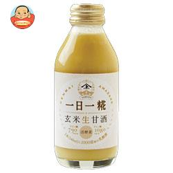 ヤマト醤油味噌 生玄米甘酒 一日一糀 140ml瓶×24本入