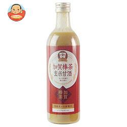 ヤマト醤油味噌 加賀棒茶玄米甘酒 490ml瓶×12本入