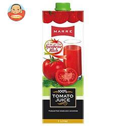 マルレ 100%トマトジュース 1L紙パック×12本入