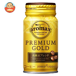 ポッカサッポロ アロマックス プレミアムゴールド 170mlリシール缶×30本入