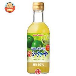 ポッカサッポロ お酒にプラス 沖縄シークヮーサー 300ml瓶×12(6×2)本入