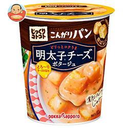 ポッカサッポロ じっくりコトコトこんがりパン 明太子チーズポタージュカップ入り 24.4g×6個入